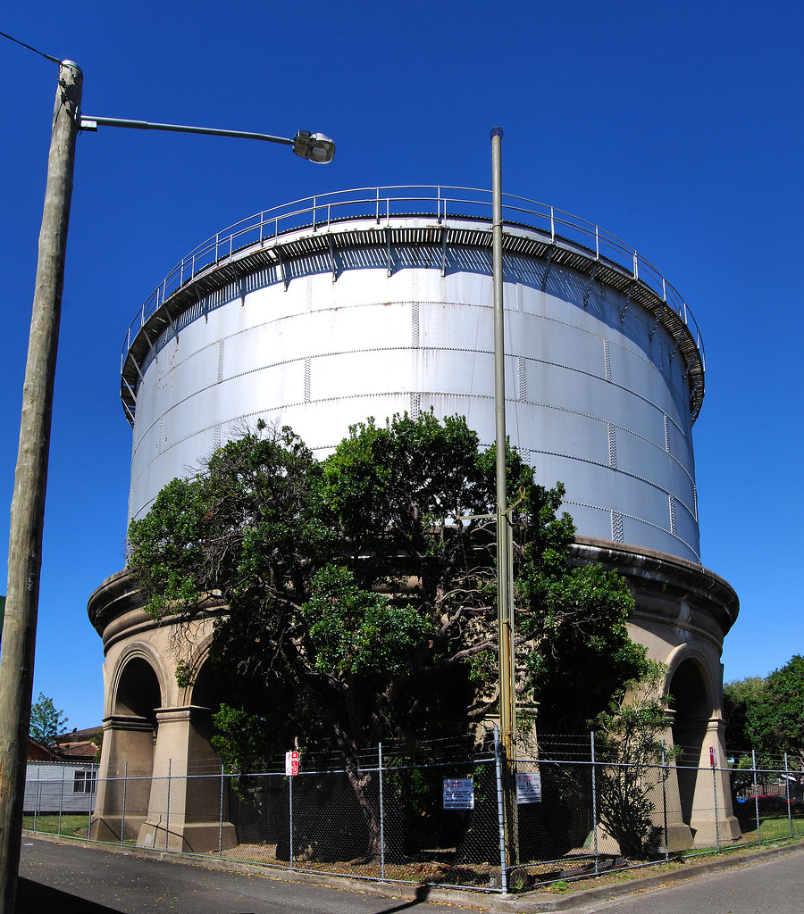 Water Tank, Drummoyne, Sydney, NSW.