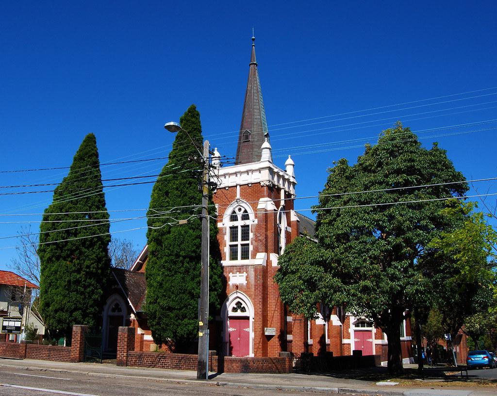 Drummoyne Presbyterian Church, Drummoyne, Sydney, NSW.