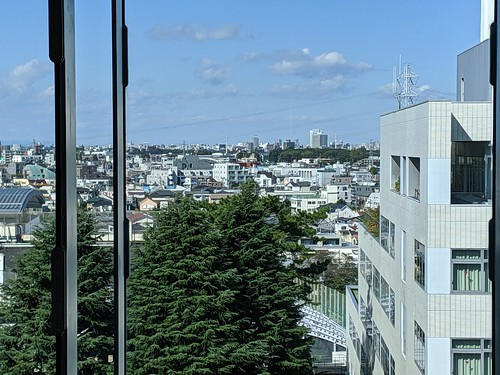 明治大学の和泉キャンパスの周辺の眺望