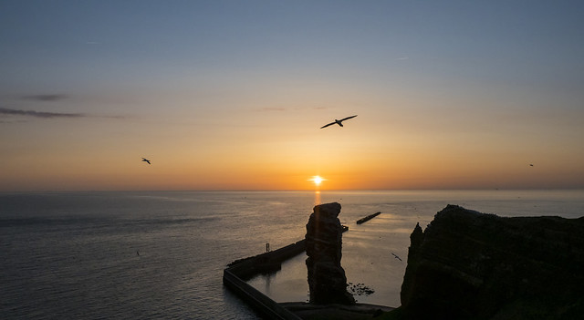 Heligoland sunset