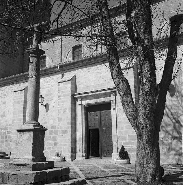 Riaza, iglesia de Ntra. Sra. del Manto.