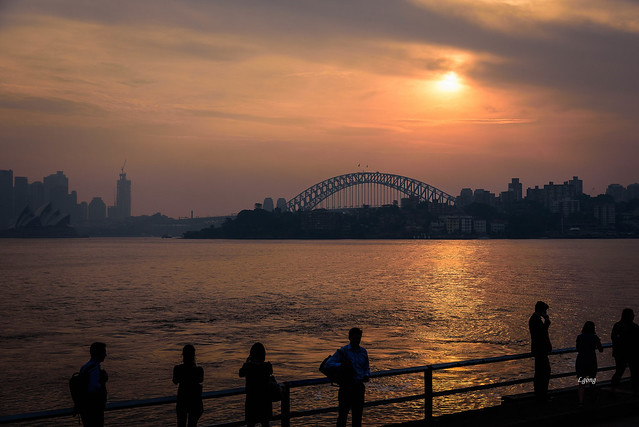 Sunset, Sydney