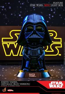 Hot Toys - COSB695 -《星際大戰六部曲:絕地大反攻》達斯·維德 (金屬藍配色版本) Darth Vader (Metallic Blue Version) Cosbaby (S) Bobble-Head