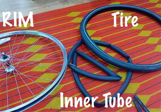 Bike Anatomy Wheel