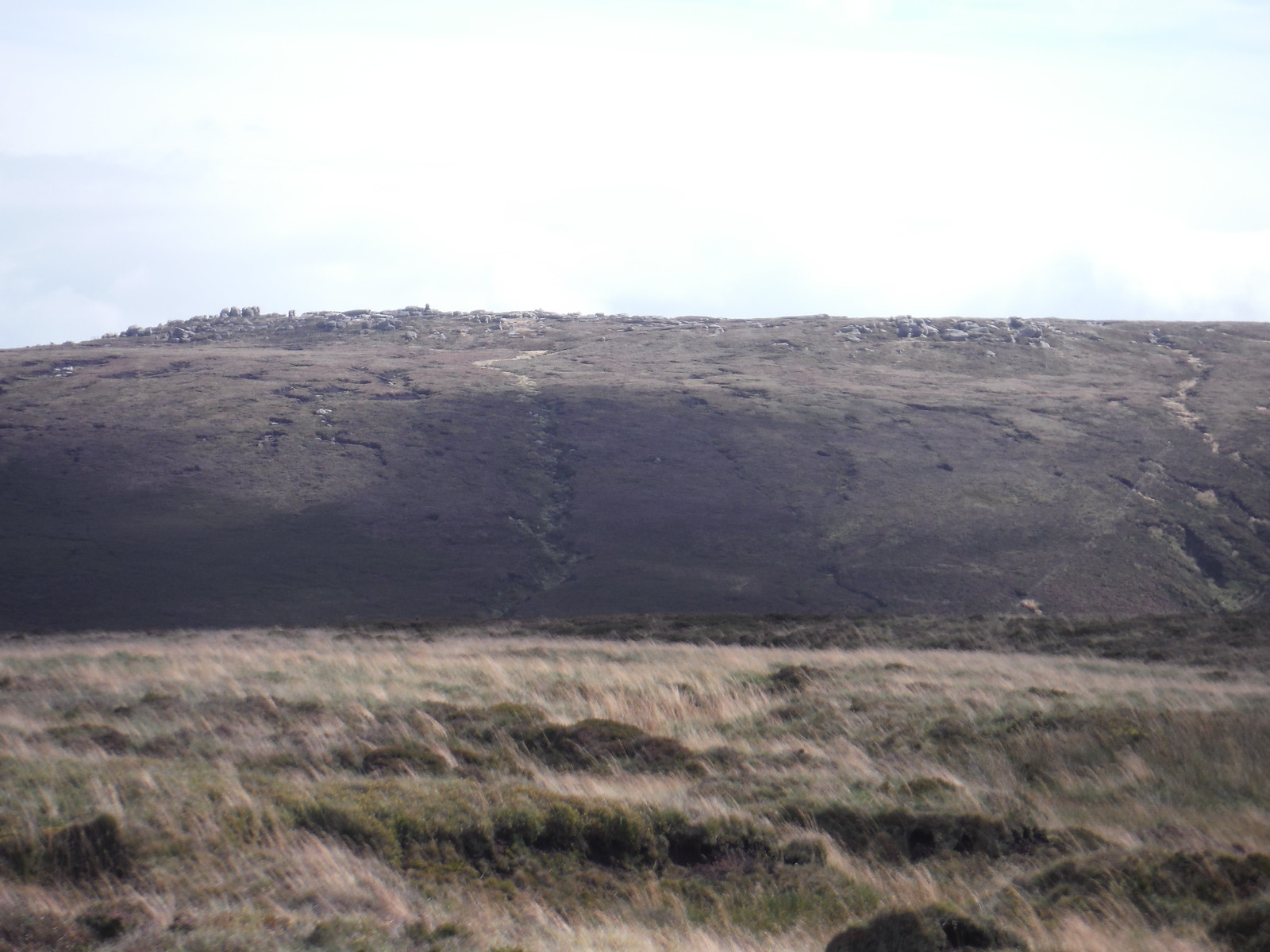 Barrow Stones across the Upper Derwent Valley SWC Walk 350 - Fairholmes Circular (via Bleaklow and Derwent Head)