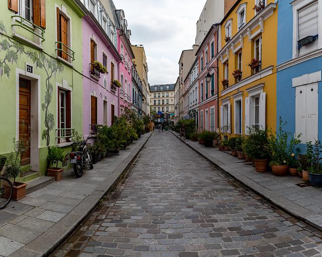 rue en couleur