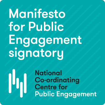 The Manifesto for Public Engagement badge