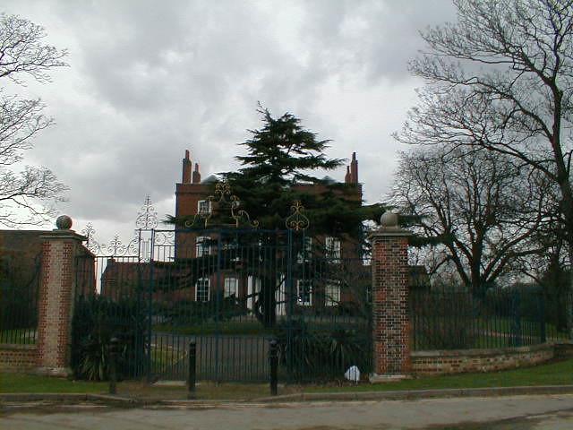 manorhouse and main gates
