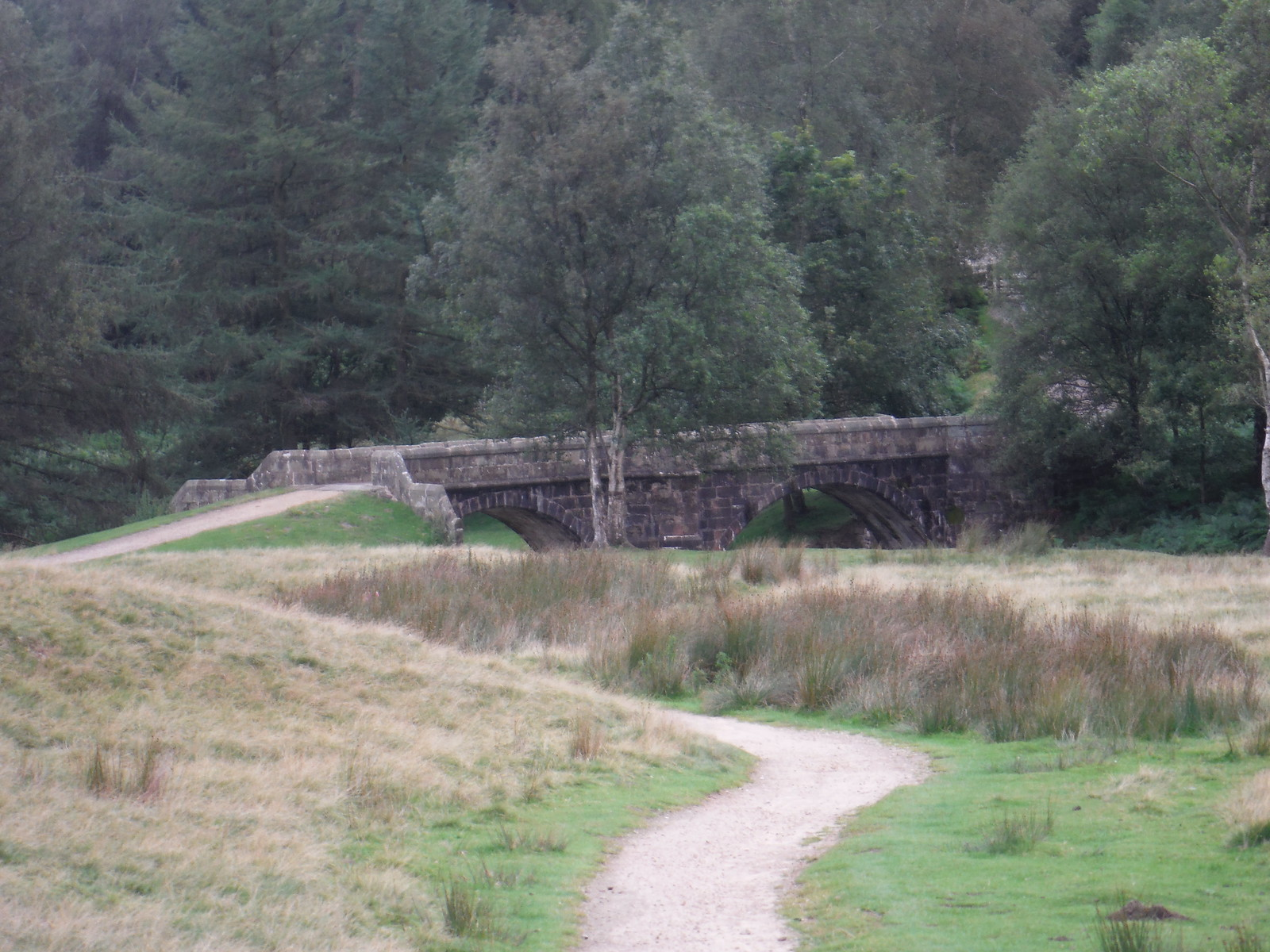 Slippery Stones Bridge SWC Walk 350 - Fairholmes Circular (via Bleaklow and Derwent Head)