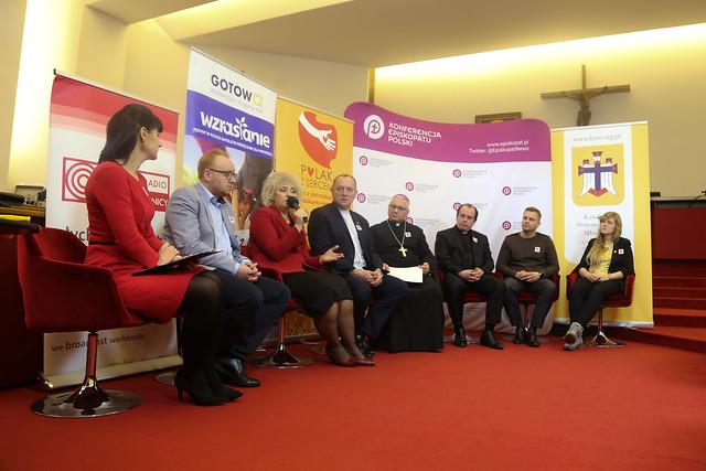 Polak z Sercem - Konferencja Prasowa, KSM, Warszawa, 5 XI 2019 r.