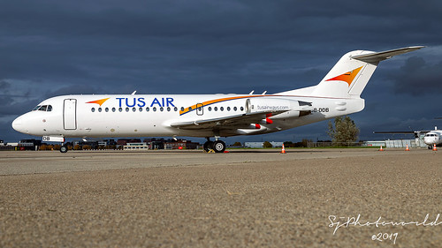 TUS Air Fokker F70 5B-DDB | by SjPhotoworld