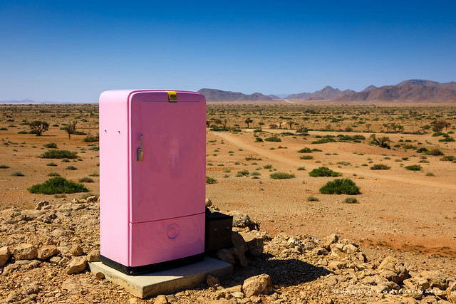 The fridge in the desert