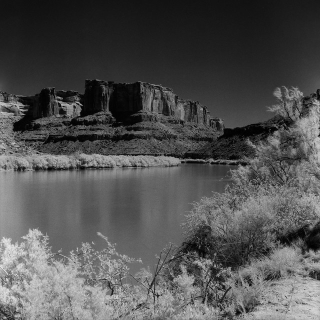Green River in Infrared