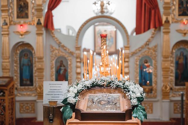 4 ноября 2019 г. Поздняя Божественная Литургия праздника Казанской иконы Божией Матери.