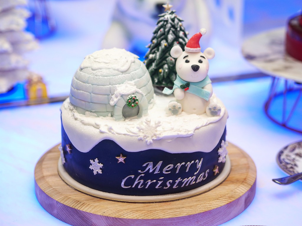 3D Christmas cake5