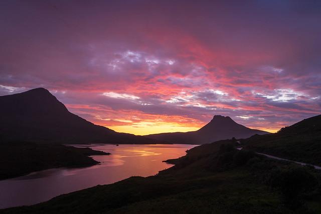 Last Light on Loch Lurgainn