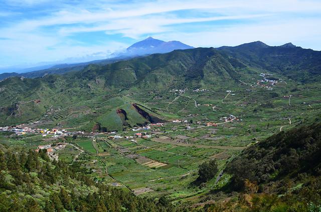 El Palmar Valley, Tenerife