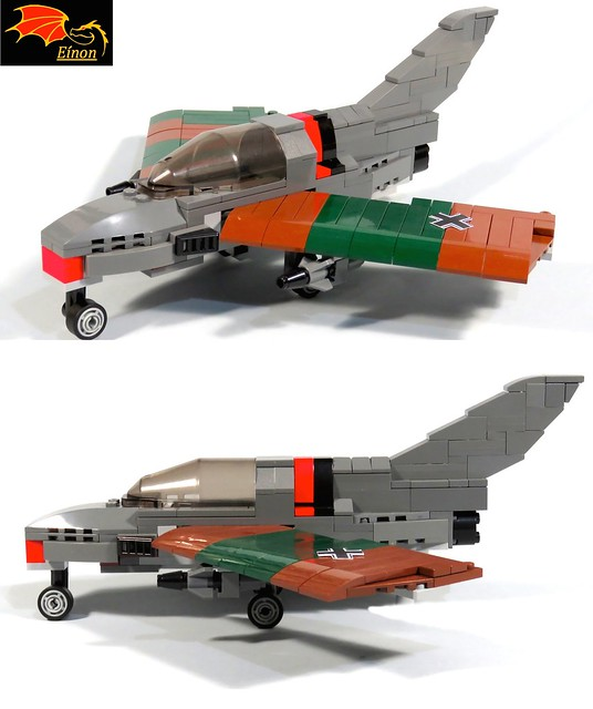 Me P.1111 - the LEGO Model