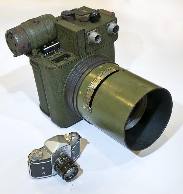 La càmera més gegant que mai tindré // I will never had a hugest camera