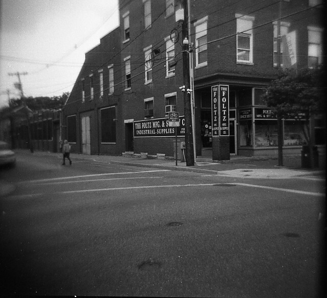 Hagerstown, MD on a Holga
