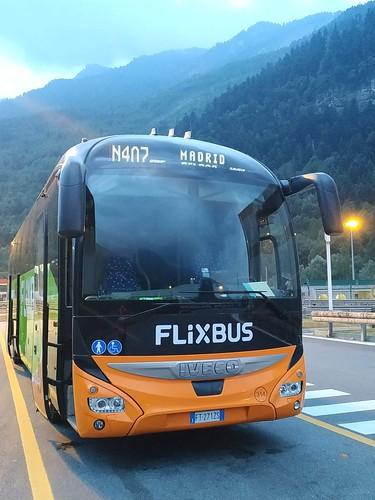 Flixbus Bayonneba