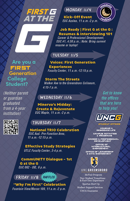 University Of North Carolina At Greensboro S First Generation College Celebration