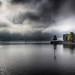 Lindau Bodensee im  Nebel