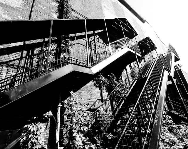 Foufounes back steps (Montreal)