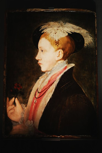 Portrait of Edward VI as Prince of Wales