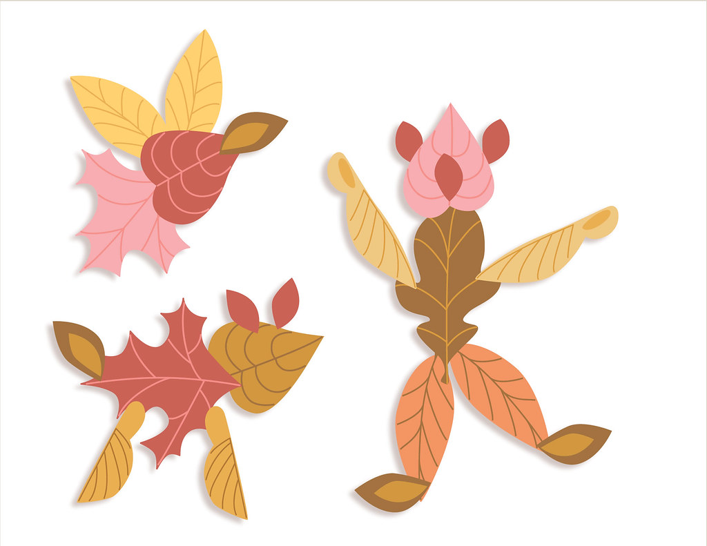 Little Dear Tracks Autumn Leaves Paper Crafting