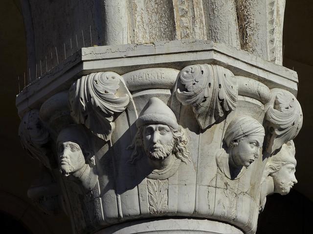 Column Capitals; Doge's Palace 1