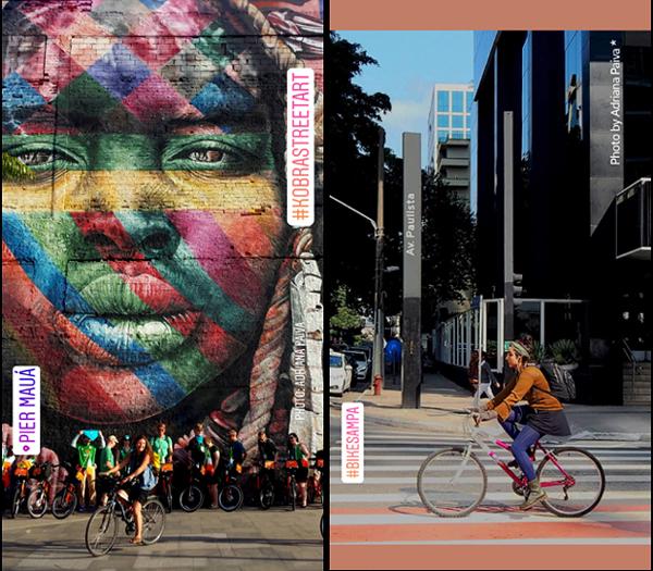 foto de da Adriana Paiva fotos Velo-city 2018 cicloativismo BikeParade adrinascidades paulistanos foto jornalista Adriana Paiva