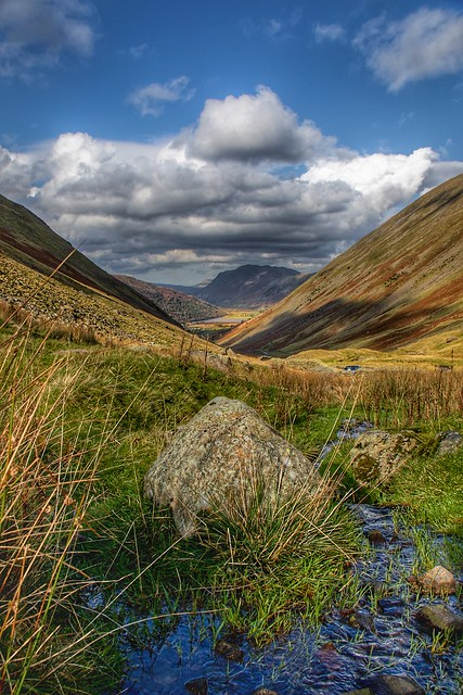 Kirkstone pass in HDR