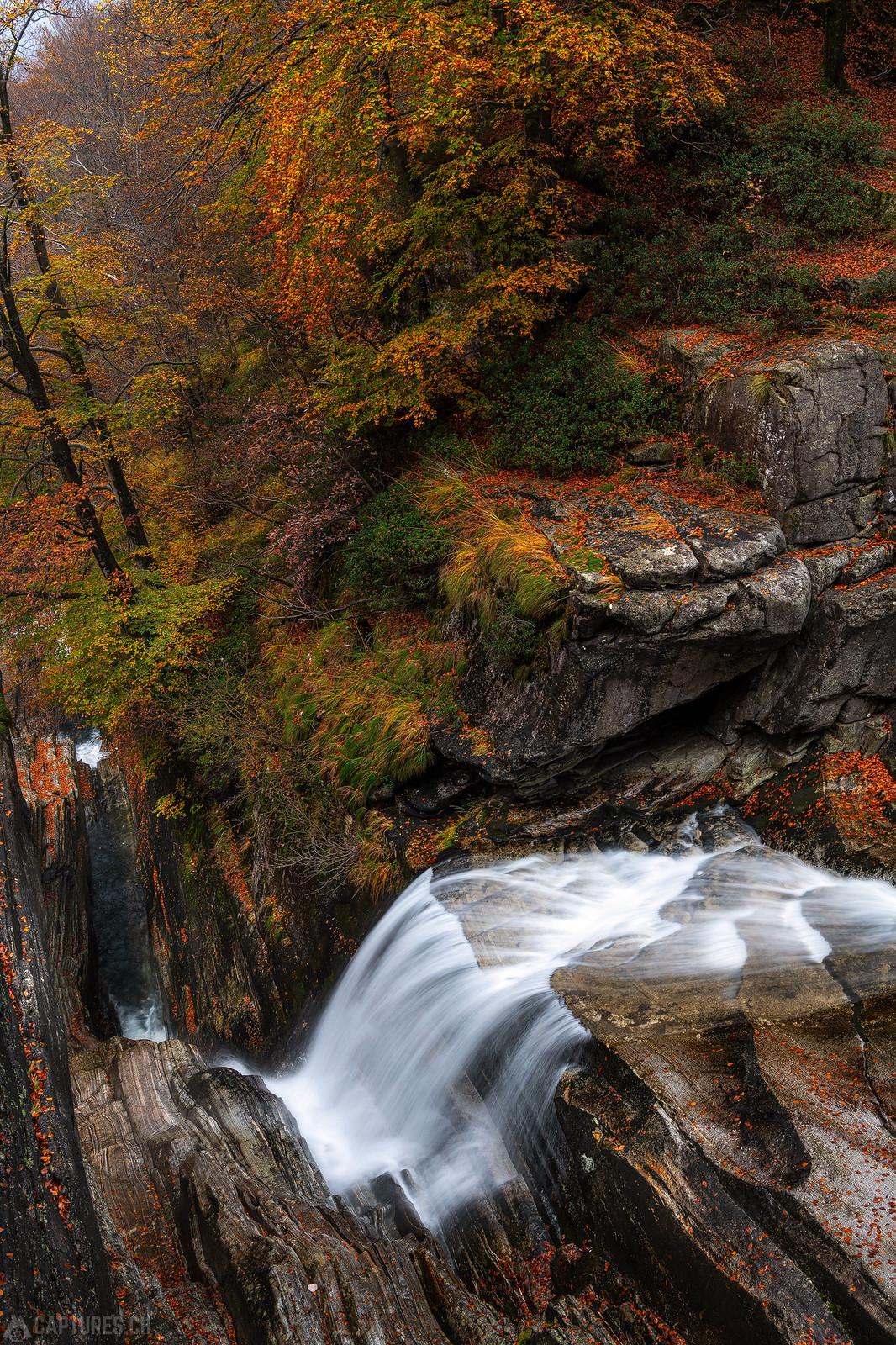 Waterfall - Verzasca Valley