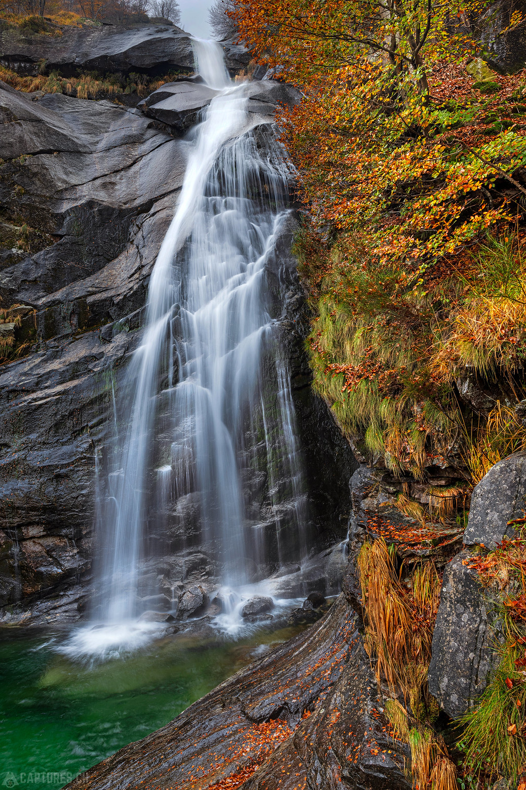Hidden Waterfall - Verzasca