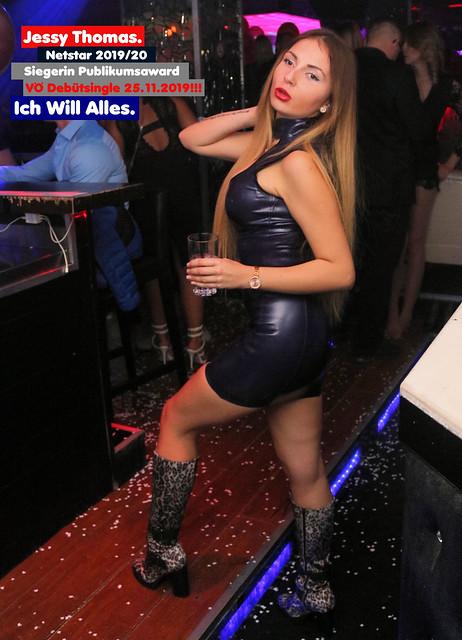 Jessy bei den Netstar-Awards & in Berlin, 10/19.