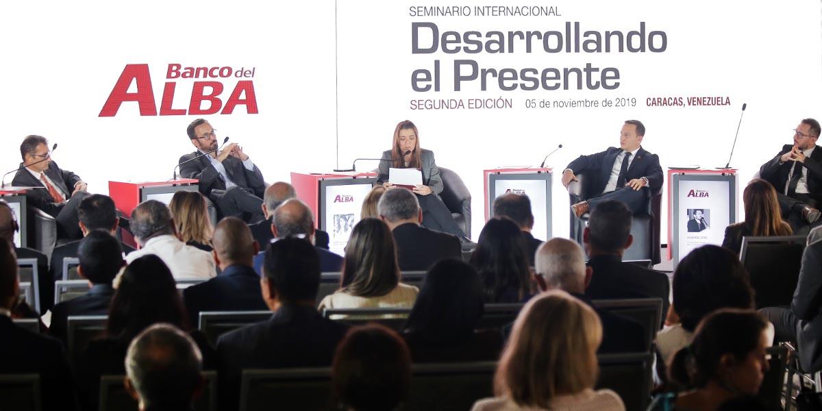 Banco del Alba celebra 11 aniversario con seminario internacional