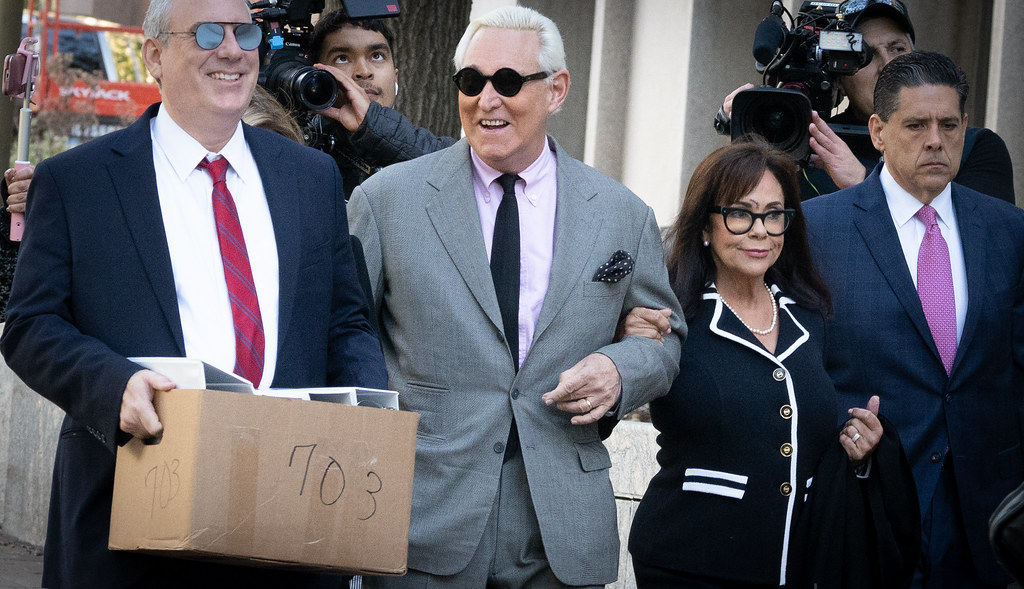 Roger Stone trial - 1st day