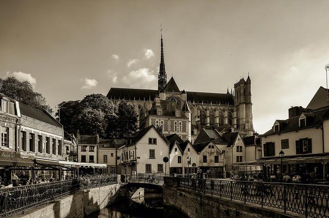 Amiens, il Borgo, la Cattedrale