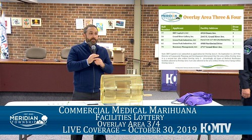 Commercial Medical Marihuana Facilities Overlay 3/4 Lottery Live Coverage