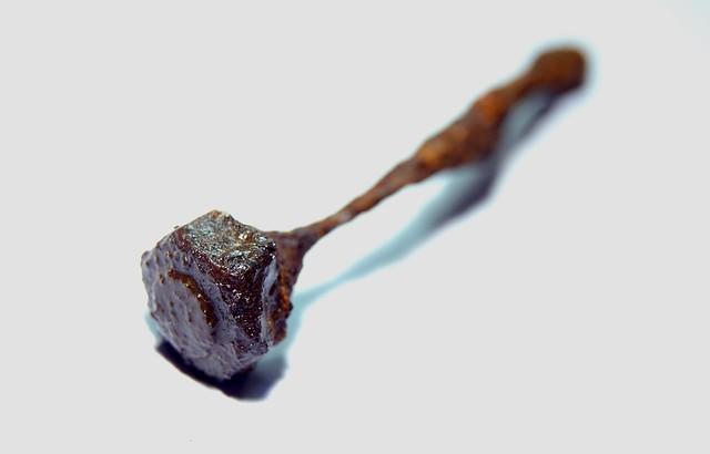 Iron nail Bones Rust by seaside design