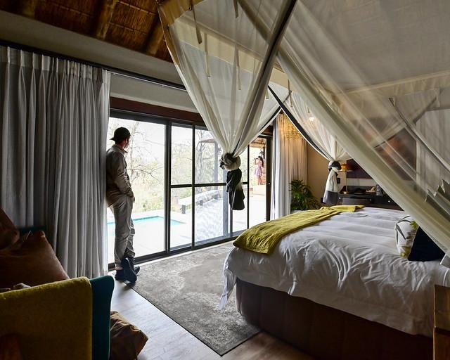 Mosquiteras para protegerse de los mosquitos en África