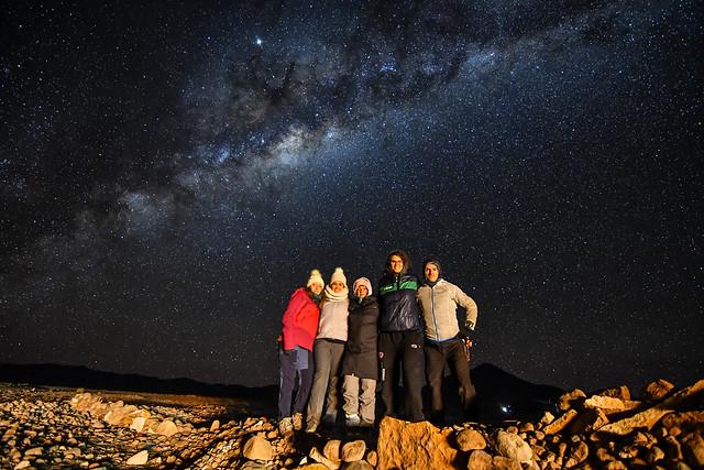 Friendship under the stars