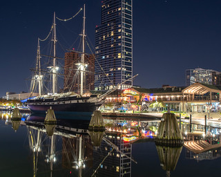 USS Constellation in Baltimore