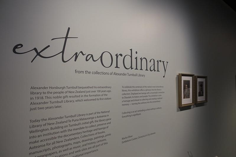Extraordinary exhibition introduction