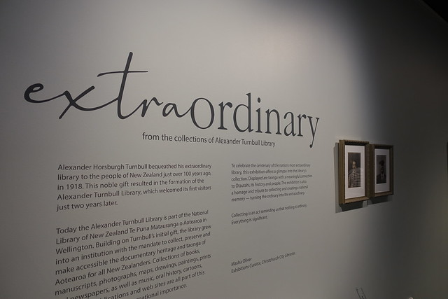 Extraordinary exhibition introduction