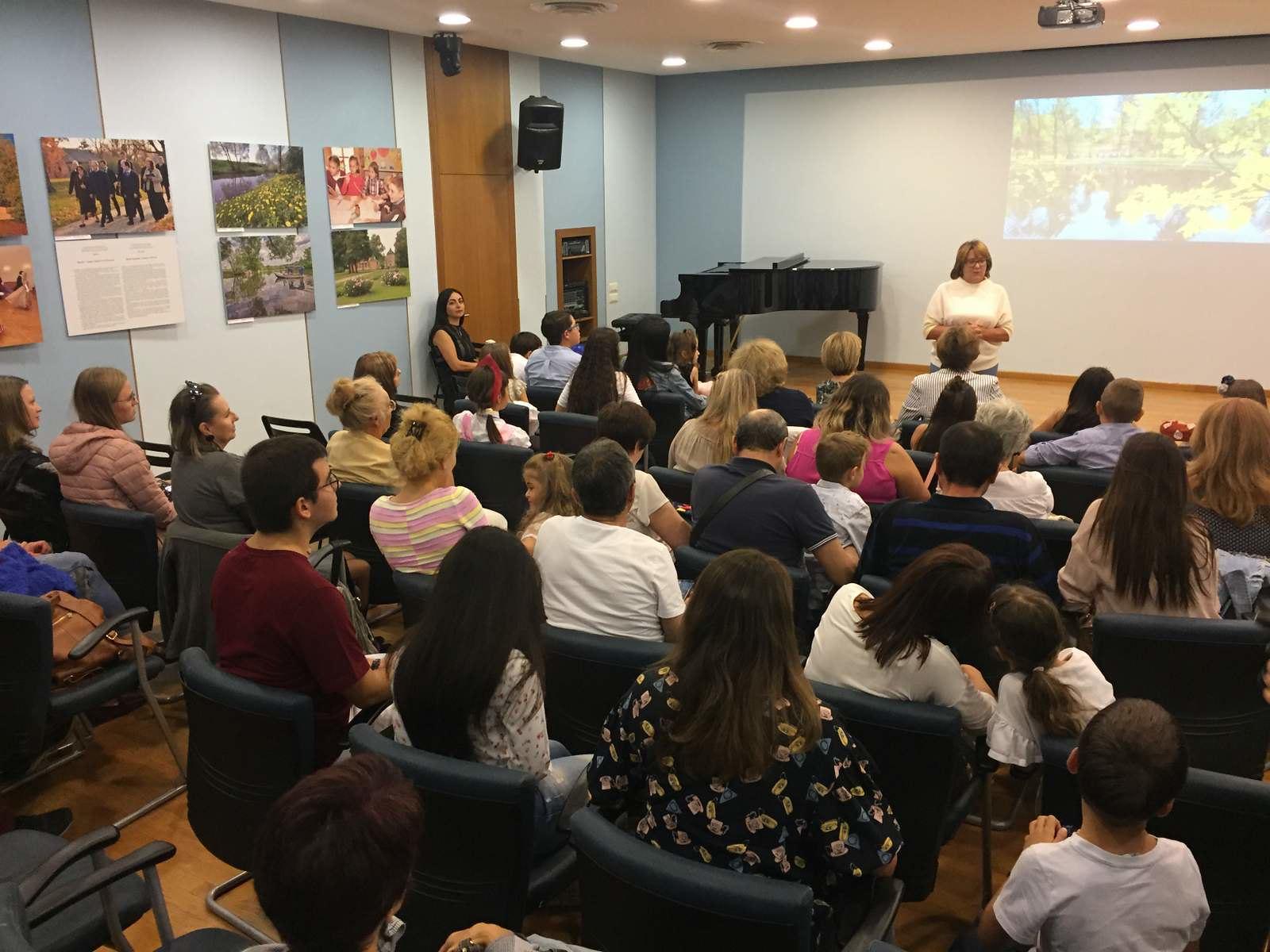 Открытие выставки «Тарханы». XXI век» в Российском центре науки и культуры в Афинах