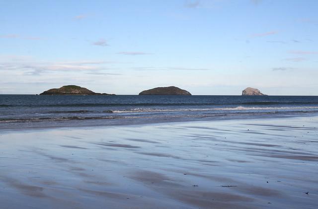 Islands from North Berwick