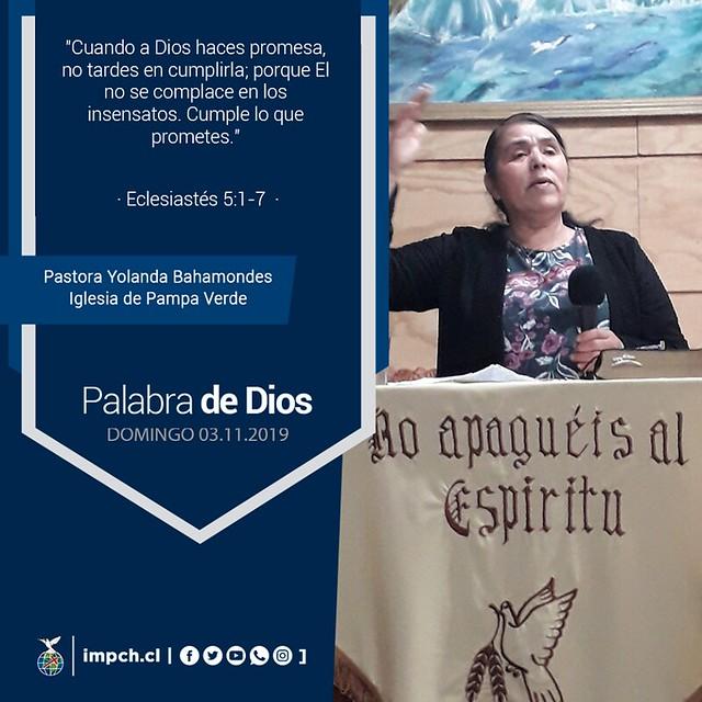Palabra de Dios   Domingo  3 de Noviembre 2019