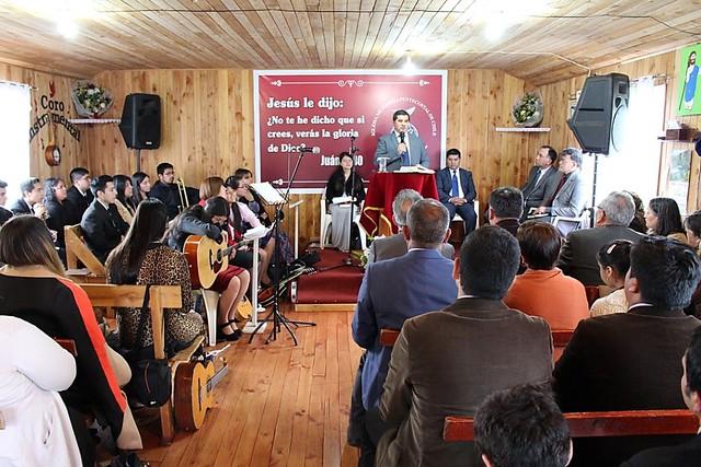 Encuentro de Jóvenes sector 21 en Iglesia Corte Alto